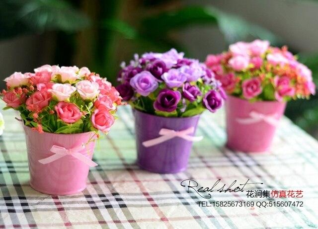 Bunga Sutra Buatan Plastik Fower Ruang Tamu Dengan Hias Dekorasi Pernikahan