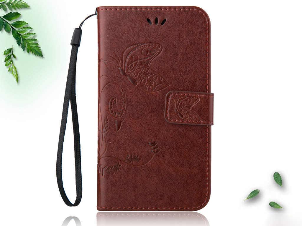 Модный кожаный чехол-книжка с бабочкой для Jinga Joy Optim Pass Start A502 Fresh Storm Touch Iron защитная оболочка для телефона