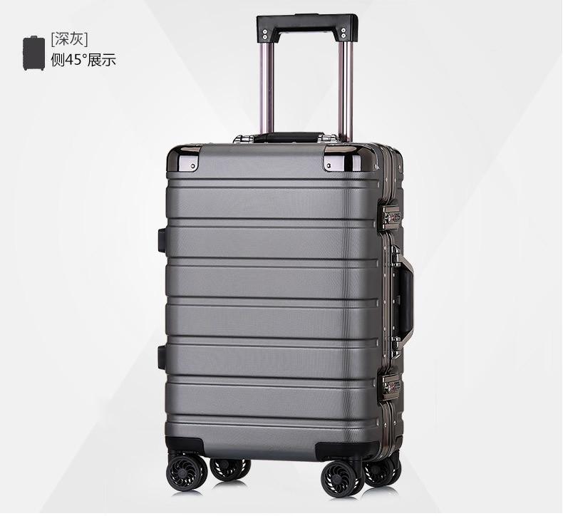 Pc de alta qualidade bagagem de casca