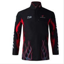 2016  Fishing clothing  New Brand Camisa UV UPF>50 Breathale Sunscreen Quick-drying Anti-UV Long Sleeve Shirts A41