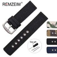Nylon Watchband 18mm 20mm 22mm 24mm Canvas Camouflage Watch Strap Band Watches Bracelet Montre Pulseira Relogio Correa Reloj