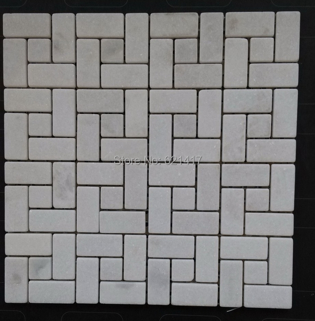 Płytki Z Białego Marmuru Kamień Mozaiki ścienne Płytki łazienkowe