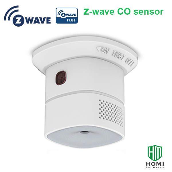 Wireless Z-wave Alliance Z-wave Plus Smart Carbon Monoxide Sensor CO Detector Europe Type Z-wave 868.42mhz
