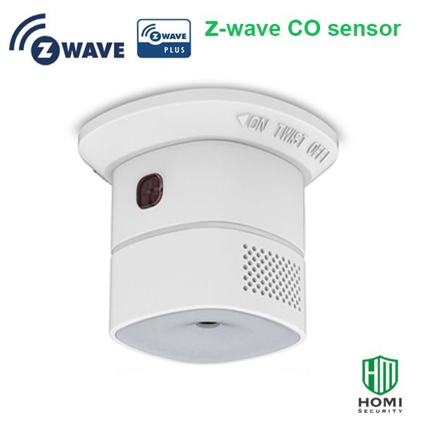 Z-wave aliança z-wave sem fio mais inteligente sensor de monóxido de carbono co detector europa tipo z-onda 868.42mhz