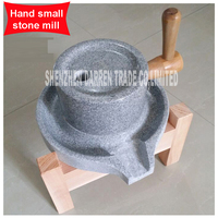 Family granite stone mil stone grinder stone mill Soy milk hemp Material With old fir shelf Handmade small stone