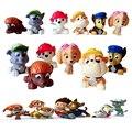 ATOY 6 pçs/lote Bath Toy Dog Anime Brinquedos Russo Kid Toy Filhote de Cachorro Do Cão de Patrulha Patrulha Canina Patrulla Brinquedos Para Criança presente