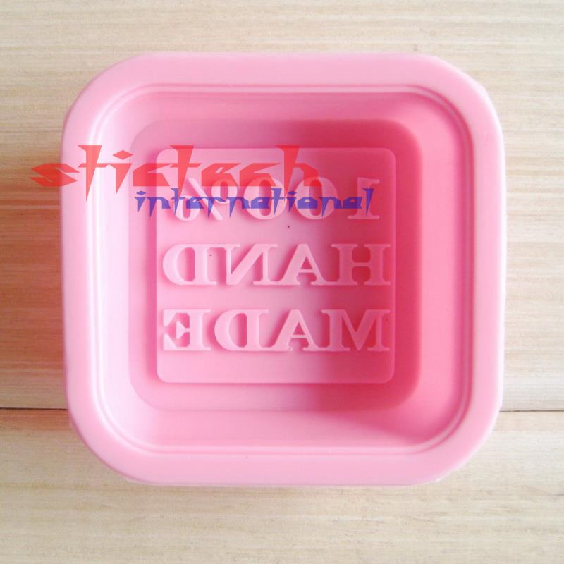 by dhl or ems 500 pieces high quality 100 Hand Made DIY Silicone Mold Soap Mold