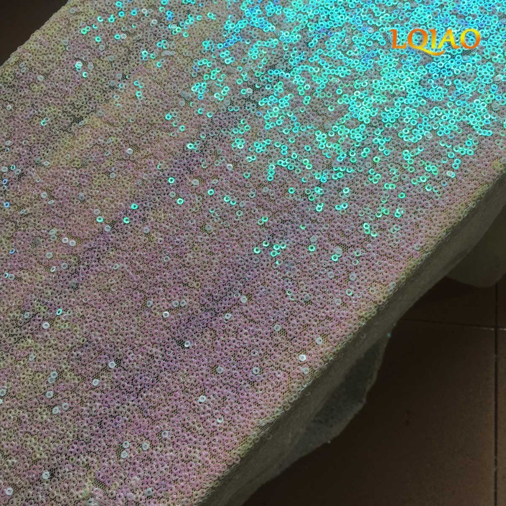 Lqiao Sequin Aisles Floor Runner Changed White 4ftx15ft