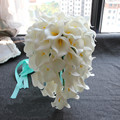 Gorgeous Wedding Flowers Bridal Bouquets Elegant Bride Wedding Bouquet Artificial Flowers Decorations Party Supplies