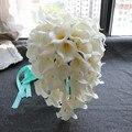Lindo casamento flores Bouquets de noiva de noiva buquê de casamento flores artificiais decoração suprimentos