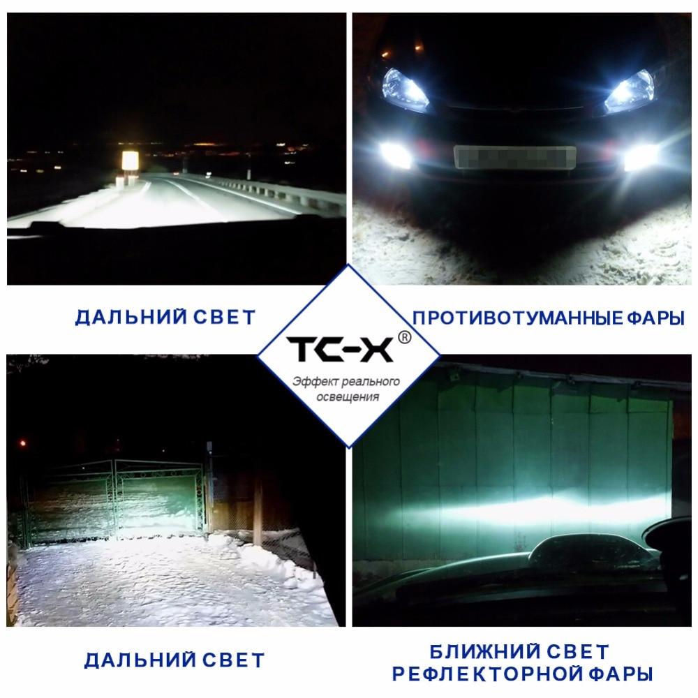 Kia Sportage avtomobilləri üçün Tumanki LED 9006 HB4 ptf başlıq - Avtomobil işıqları - Fotoqrafiya 5