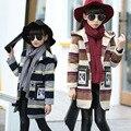 High Quality Cute Cartoon Hooded Girls Coat Autumn Winter Warm Kids Jacket Outerwear Children Clothing Fashion Tops Girl Coats