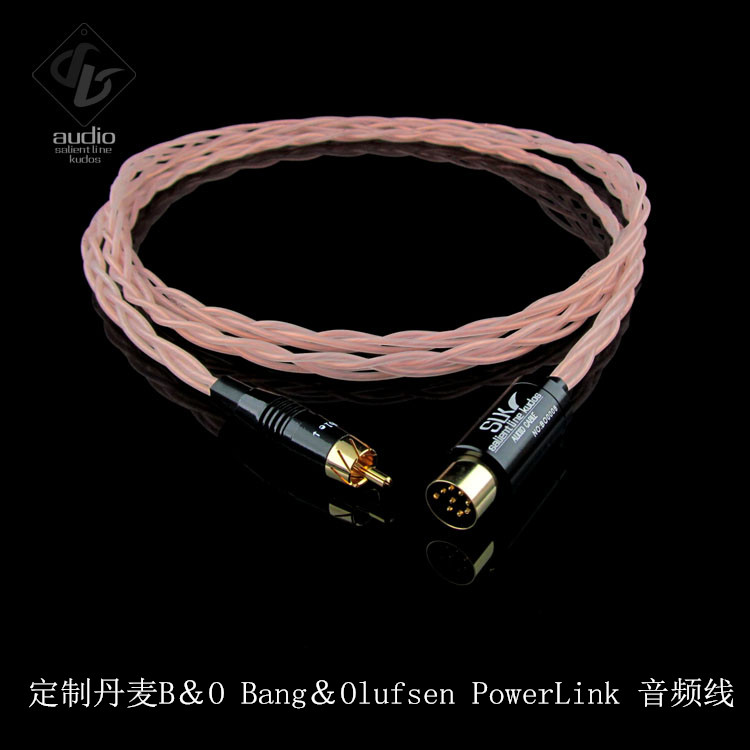 SLK Audio Hi-End B&O Bang&Olufsen PowerLink Audio Cable Speaker Upgrating Wire tpi taperwire audio wire