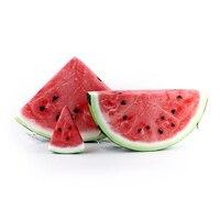 Sweet Fruit Watermelon Shape Soft Plush Cushion 3D Simulation Watermelon Toy Nap Office Pillow Creative Birthday Gift Home Decor