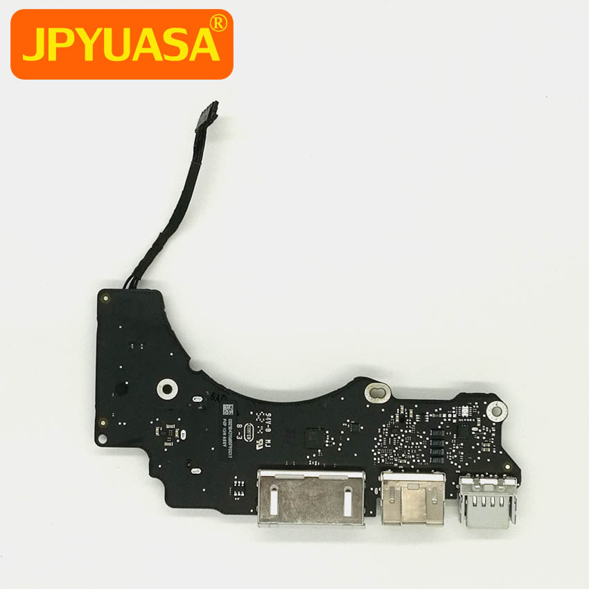 Laptop I/O Board USB HDMI SD Card Reader Board For Macbook Pro Retina 13 inch A1502 2015 820-00012-A i o board usb sd card reader board 820 3071 a 661 6535 for macbook pro retina 15 a1398 emc 2673 mid 2012 early 2013