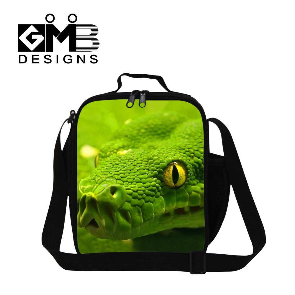 snake kid bag
