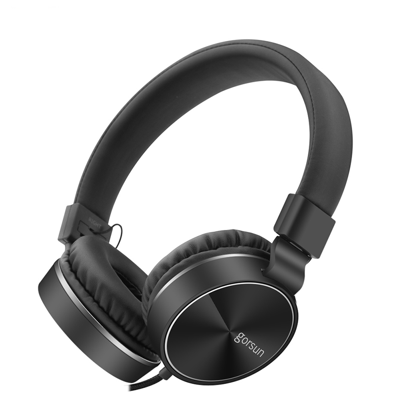 Headphones Computer Gaming Headsets Wired Over-ear Gamer Headsets Adjustable Foldable Metal With Mic for phone