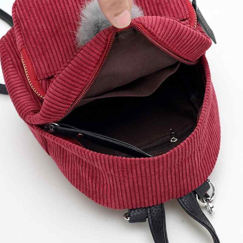 335ee95c1224 Мини женские рюкзаки однотонная модная школьная сумка для  девочек-подростков с ...