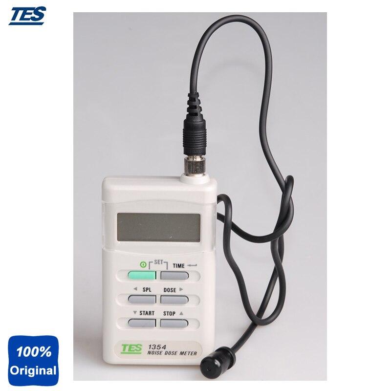 Medidor de nivel de sonido de precisión (70-140dBA) TES1354