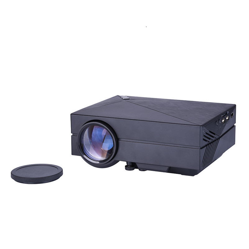 GM60 Mini Portable Home Cinema Theater LED Projector Lcd HD 1080P USB / SD / VGA / HDMI / AV