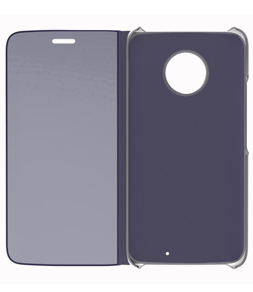 hot sale online 8a5a1 22c25 US $6.9  Lenovo Touch Flip Case for Moto X4, Transparent Cover Shock  Resistant and Edge Protective Folio Flip Case-in Flip Cases from Cellphones  & ...