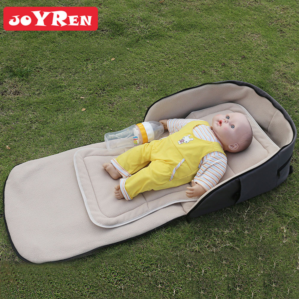 все цены на JOYREN Outdoors Folding Bed Diaper Bag Baby Mattress Sleeping Mat