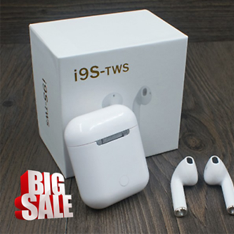 Originale ifans i9s 1:1 Air Baccelli mini TWS Bluetooth senza fili super bass Auricolari stereo Per cuscinetti auricolari apple PK i11 i10 i12 tws
