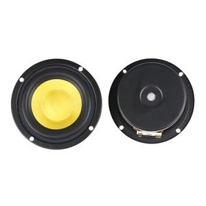 Image 2 - GHXAMP 3 inch 4OHM 25 w בינוני וופר בס רמקולים זכוכית סיבי עבור קולנוע ביתי מחשב שולחני Bluetooth Protable אודיו 2 יחידות
