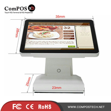 A 15 inch WIFI enabled POS with multi lingual and multi function smart payment systems POS1619