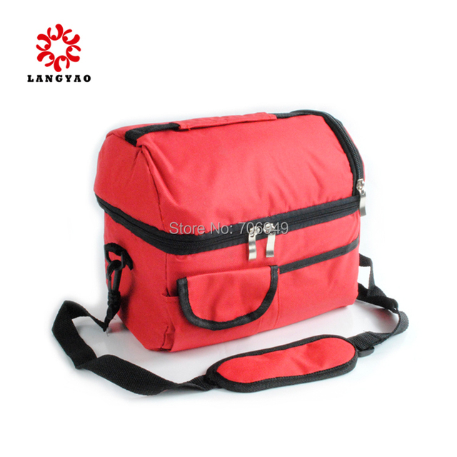 1pc Double Insulation School Children Lunch Bag Lancheira Bolsa Termica Cooler Bags LunchBox -- BIB063 P30 Wholesales