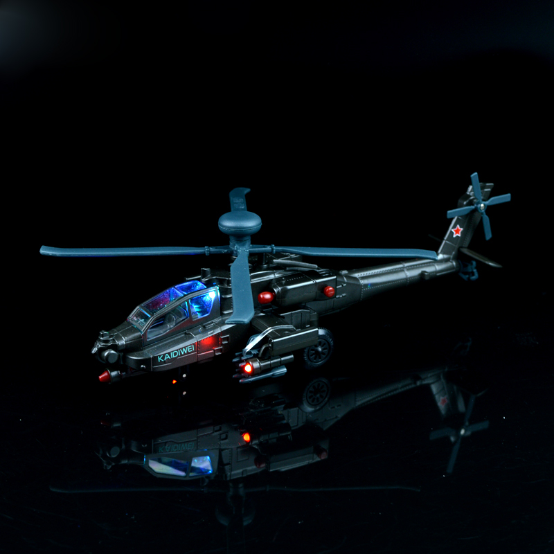 1 Pcs 1:64 Alloy Armed Helicopter Models Airplane Fighter Plane Collecter Aircraft Simulation Model Puzzle Toy For Kids Children