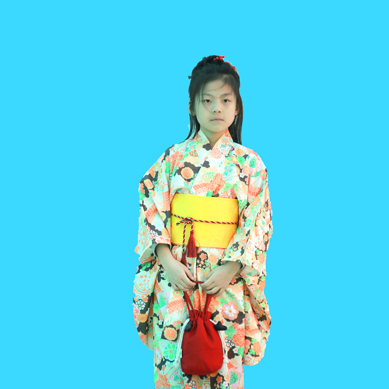 цены 2018 winter japanese boys kimono child warrior traditional swordmen yukata kid stage performance clothing cosplay costume