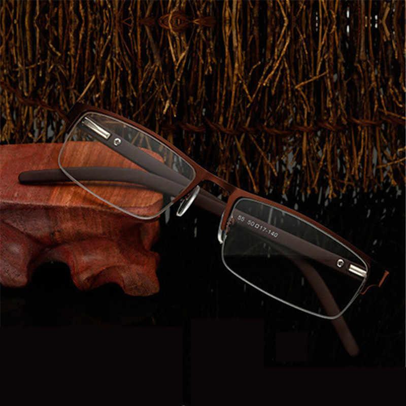 5361112b58 ... Kaleidoscope Glasses Reading Glasses Men Women Elderly Metal Half Frame  Hyperopia Eyeglasses With Prescription Read Eyewears ...