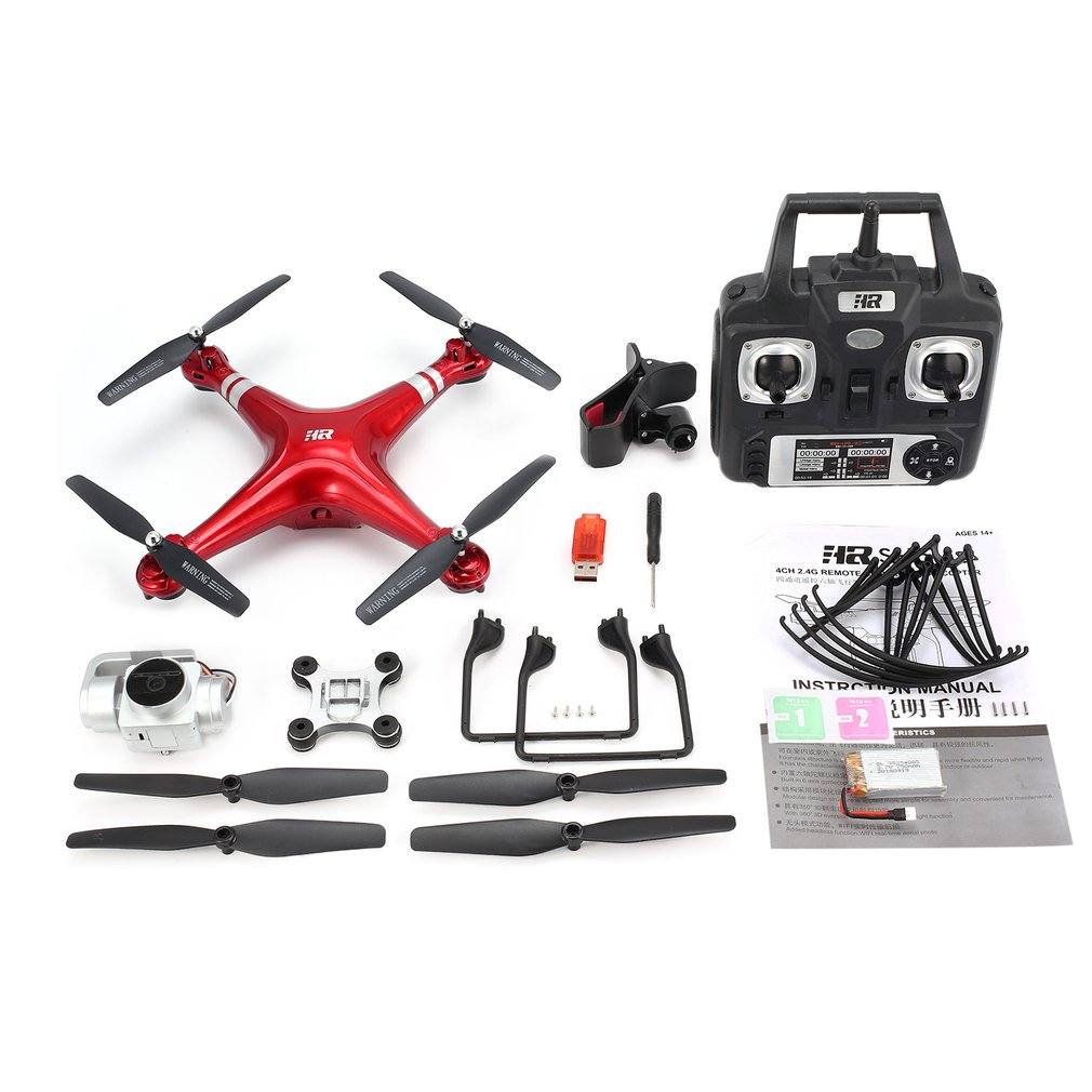 SH5HD 2.4G FPV RC Drone RC Quadcopter with 1080P Adjustable Wide Angle Wifi HD Camera Live Video Altitude Hold Headless Mode 360 degree 170 wide angle lens sh5hd drones with camera hd quadcopter rc drone wifi fpv helicopter hover flip live video photo
