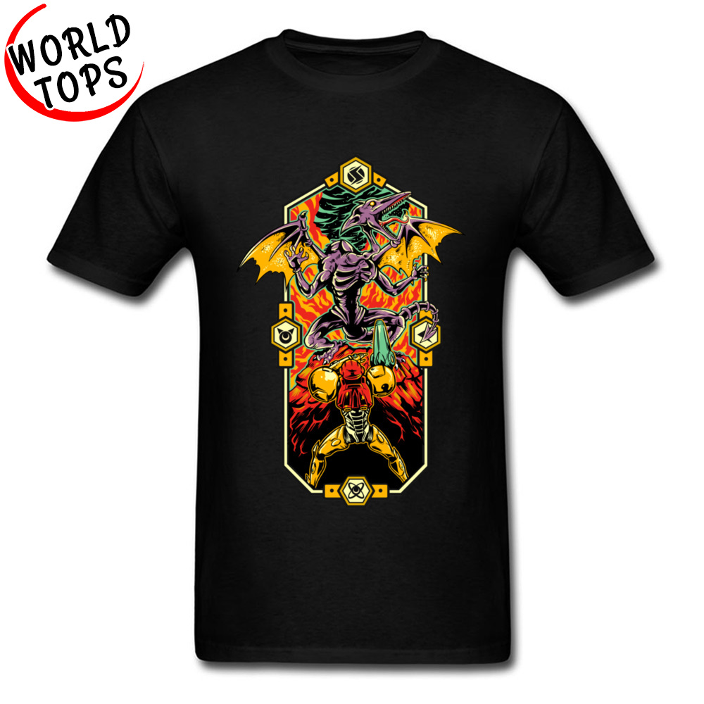 Epic Metroid Zelda T Shirts For Men WW2 German Military Game Tshirts Printing Leisure Tops & Tees 3XL Europeanize Tshirt 3D image