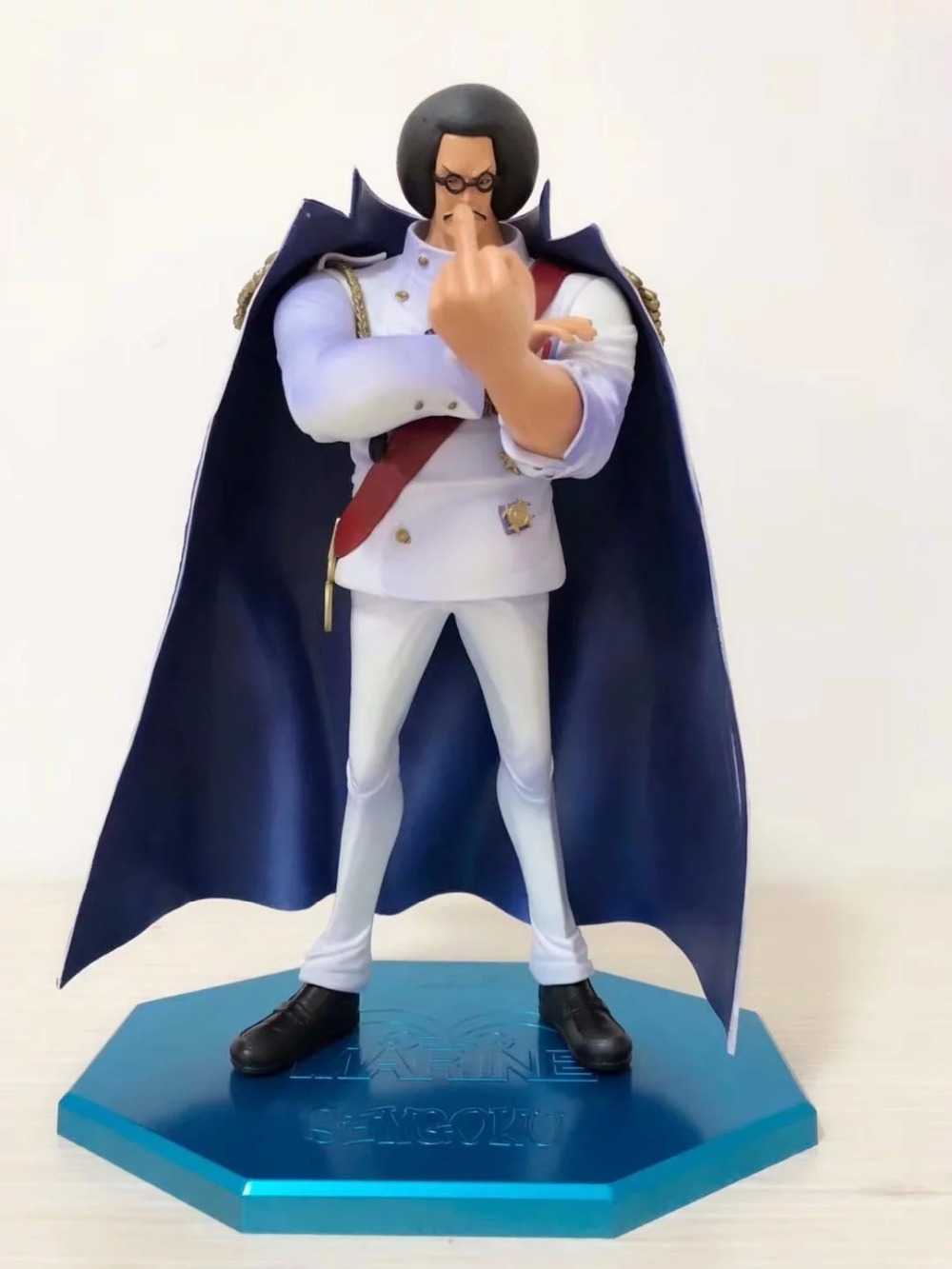 Huong Anime Figures 28CM One Piece Portrait of Pirates P.O.P Limited Edition Sengoku PVC Action Figure Collectible Model ToyHuong Anime Figures 28CM One Piece Portrait of Pirates P.O.P Limited Edition Sengoku PVC Action Figure Collectible Model Toy
