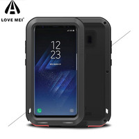 LOVE MEI For Samsung Galaxy S8 S8 Plus S8 Powerful Case Shockproof Dropproof G950 G955 Phone