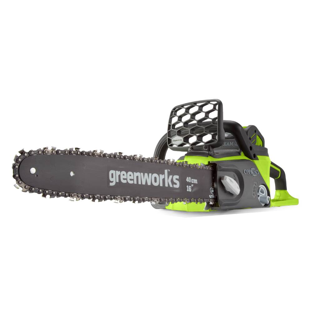 Saw chain rechargeable GreenWorks GD40CS40K4 (40В, Li-ion battery 4 AH, tire 40 cm)