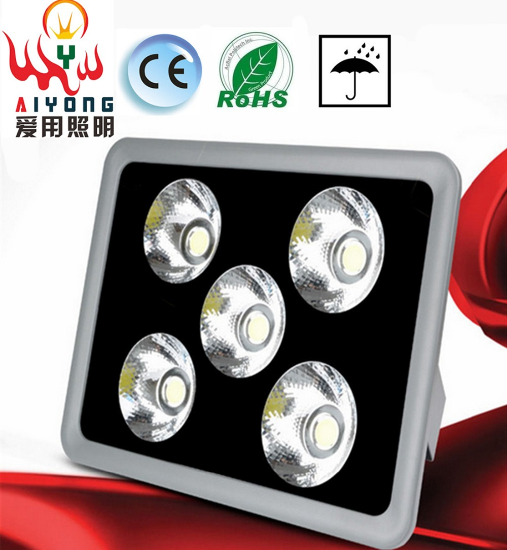 COB concentrating AC85-265V100W LED floodlights cast light projection lamp waterproof outdoor advertising