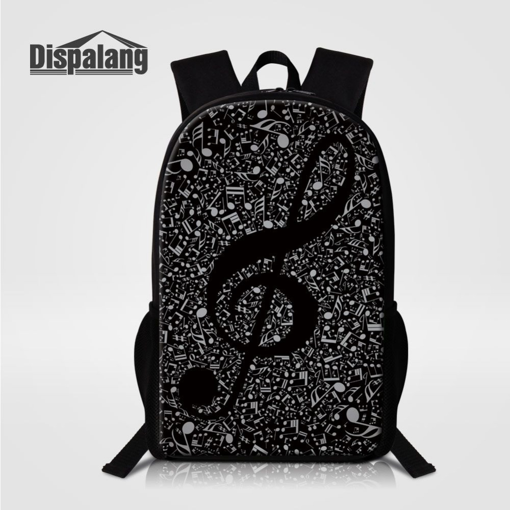 Men's Bags Dispalang 2017 Simple Design School Backpack Pattern Violin Children Schoolbag Primary Students Bookbag Bagpack Art For Girls