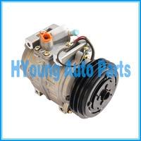 4472201310 4472200390 8832036560 88320 36530 auto ac compressor para Toyota Coaster Bus 2000 10PA30C 10P30C 155 milímetros 2PK 24 V Compressor e embreagem AC    -