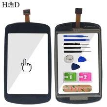 Pantalla táctil móvil para Garmin Edge 810, 800, GPS, Ordenador de bicicleta, Panel de Digitalizador de pantalla táctil, cristal frontal con Sensor, herramientas de pantalla táctil