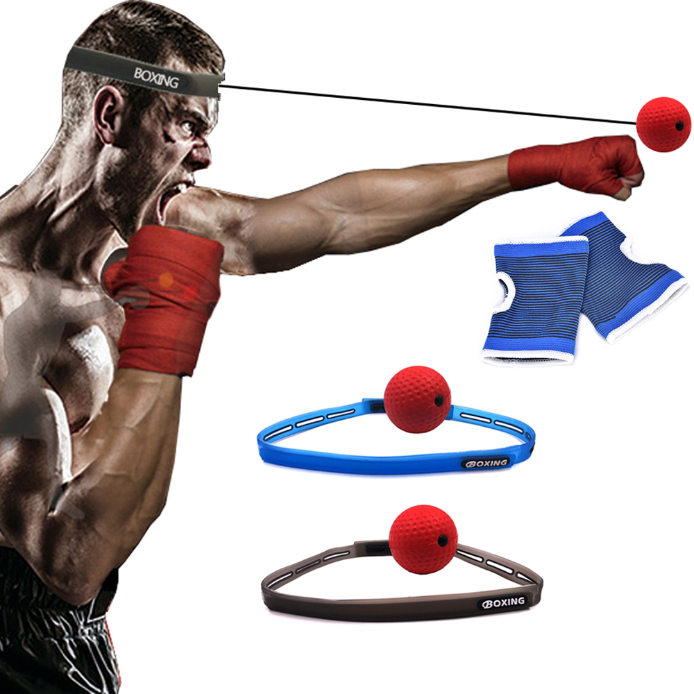 Boxing Ball for Training to Improve Speed and Reactions Gym Punch Exercise