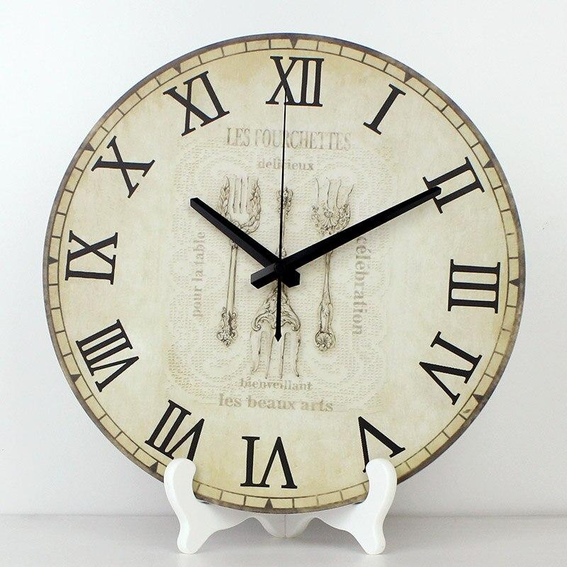 Оптовая продажа; 12 водонепроницаемые часы лицо кухня часы более Тихий домашний декор настольные часы Современный дизайн гостиной настоль... ...
