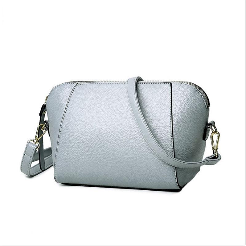 Trendy Japanese and Korean simple shell bag Fashion matches everything female bag small bag single shoulder Messenger bag 29