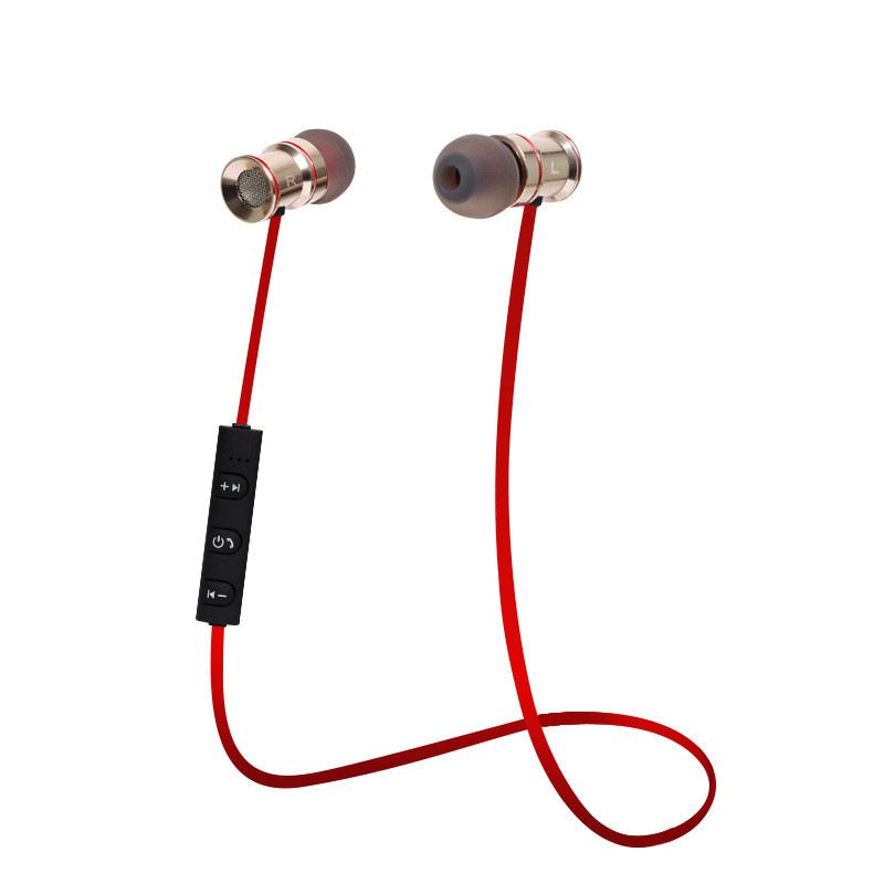 New Sport Metal Bluetooth Earphone Wireless Bass in ear with Mic for Xiaomi Samsung Gopro Bluetooth V4.1 for Smart phone