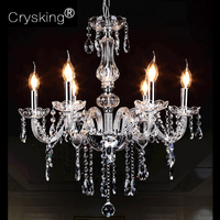 Free Shipping Hand Blown Crystal Chandelier Light Best Selling In All Countries P CCLD8006 L6