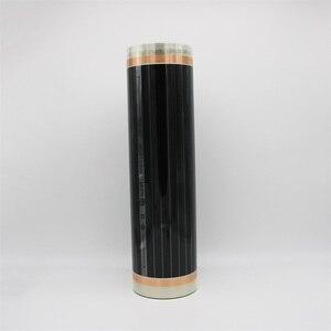 Image 2 - Энергосберегающая пленка для обогрева помещений под ламинатом, ширина 100 см, 220 Вт