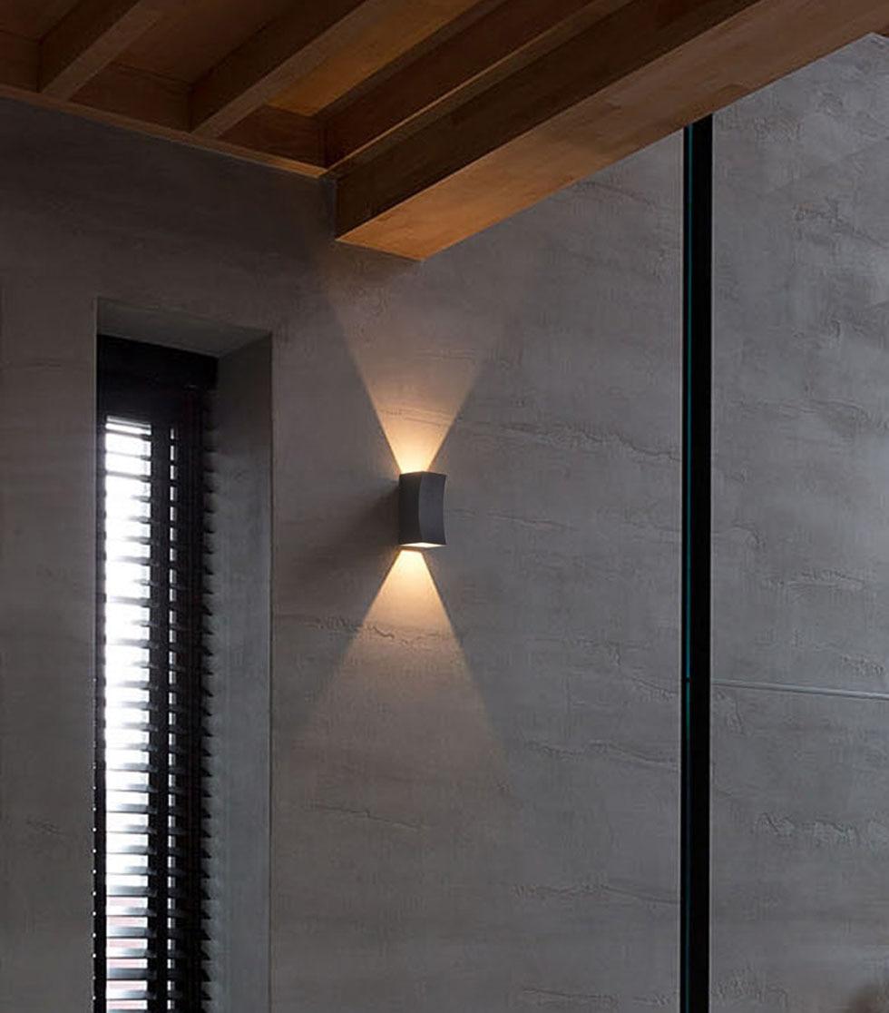 Corredor lâmpada de Parede Moderna Simples Luz