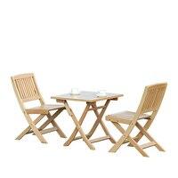 Открытый Портативный стол и стул набор Бытовая твердой древесины балкон отдыха стул складной сад столы и стулья Комбинации
